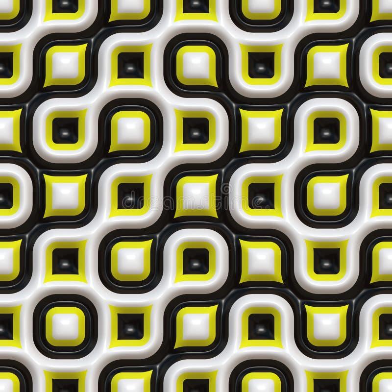 Free Checkered Organic Pattern Stock Image - 10020521