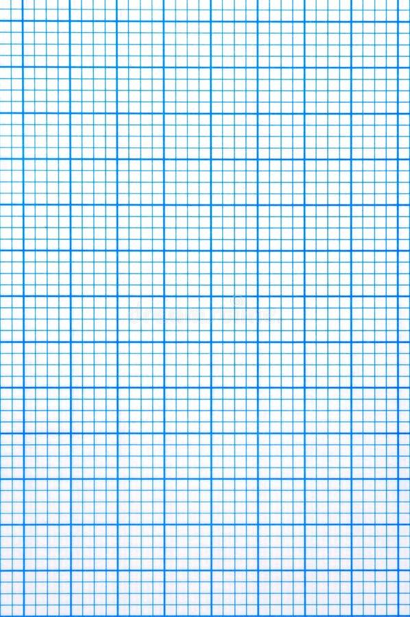 Checkered Paper Sheet Royalty Free Stock Photo