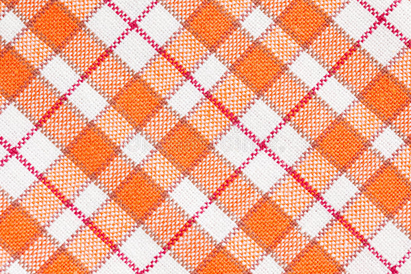 Download Checkered pattern stock image. Image of drapery, country - 15944277