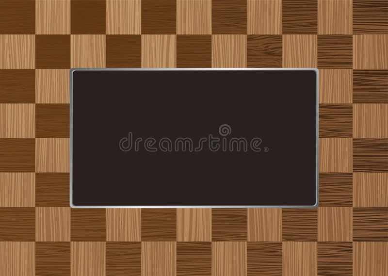 Download Checkered picture frame stock vector. Image of chessboard - 14446926