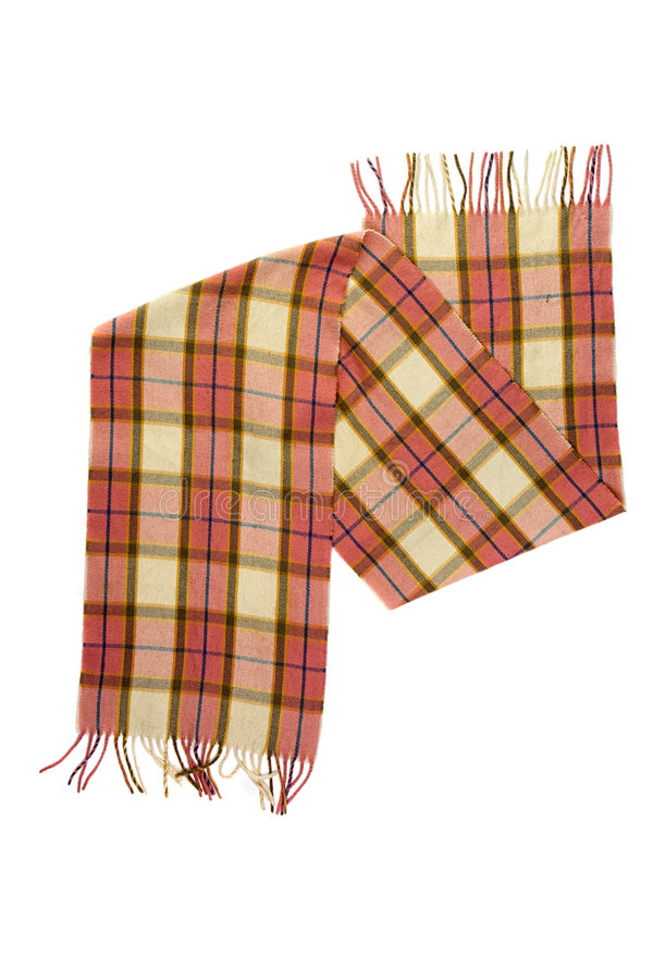 Download Checkered Scarf Royalty Free Stock Photography - Image: 6652347