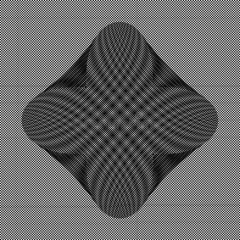 Checkered Schwarzweiss-Hintergrund stockfotografie