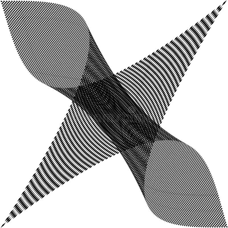 Checkered Schwarzweiss-Hintergrund lizenzfreies stockbild