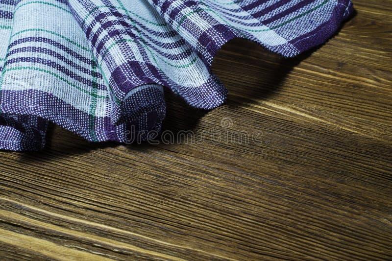 Checkered Serviette stockbild