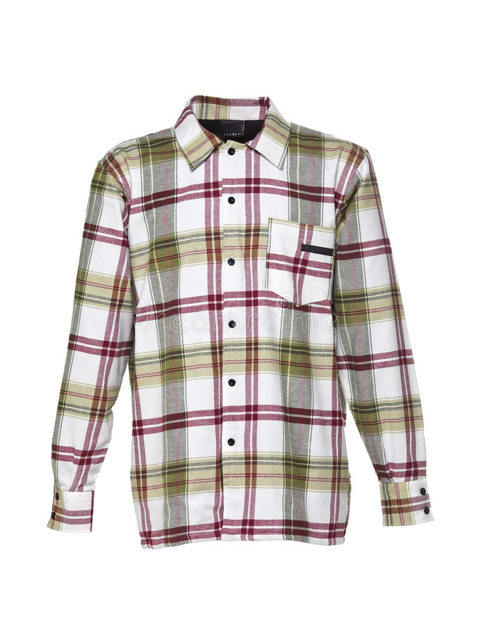 Download Checkered shirt for men stock image. Image of chequer - 15362349