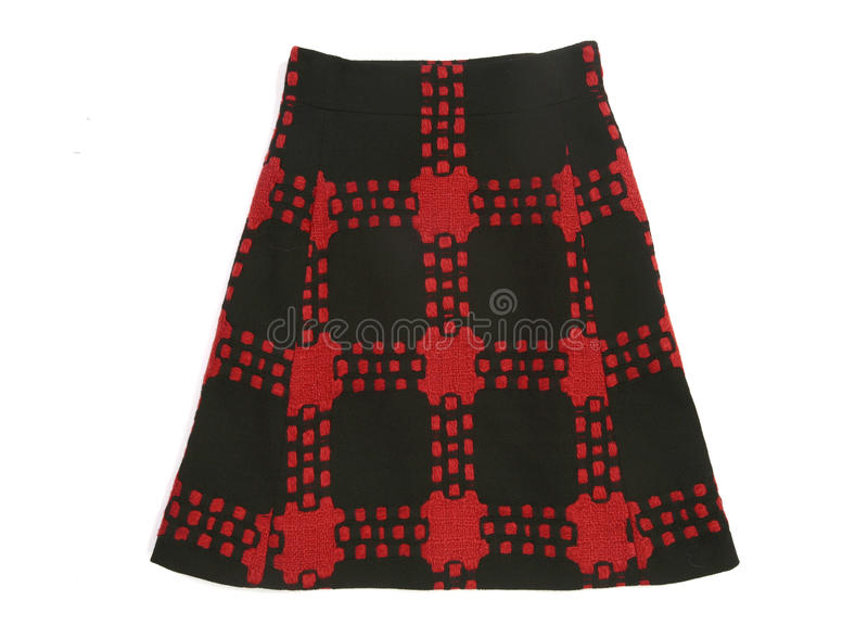 Download Checkered skirt stock photo. Image of black, textile - 11908428