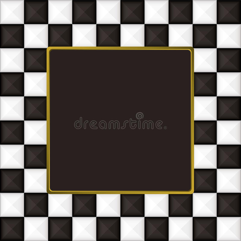 Download Checkered Square Picture Picture Frame Stock Vector - Illustration of texture, square: 14659530