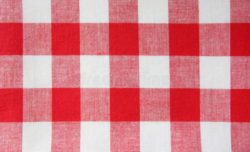 Download The checkered tablecloth stock photo. Image of closeup - 21307738