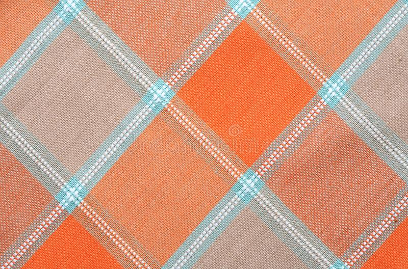 Checkered Tablecloth Background
