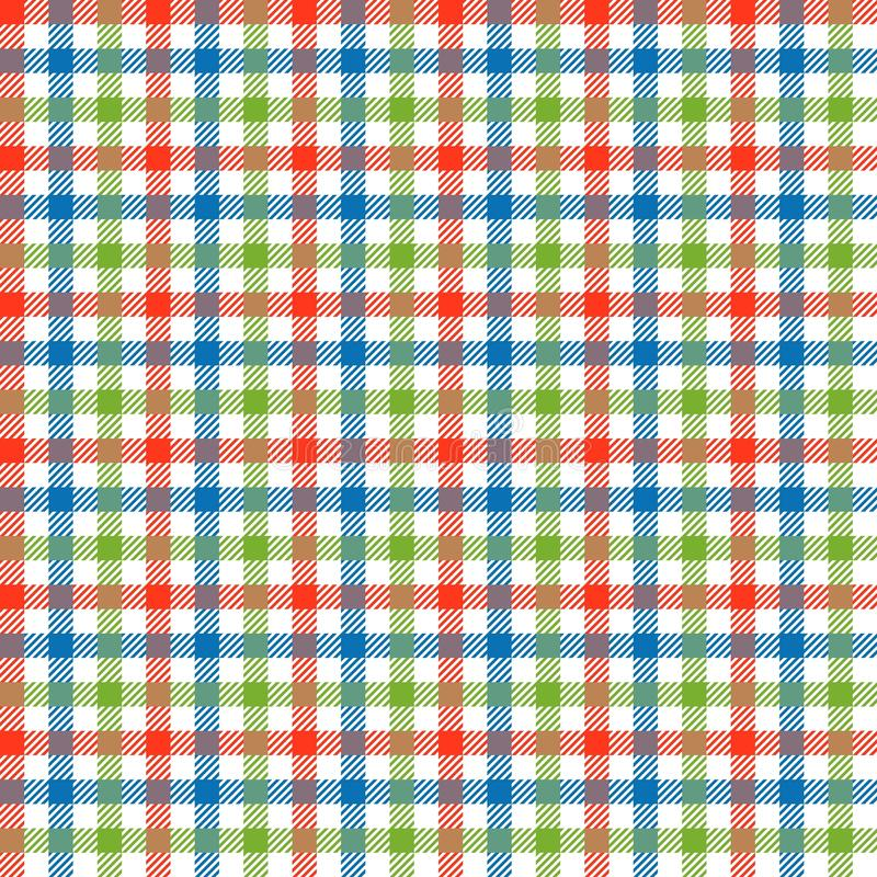 Download Checkered Tablecloths Pattern Colorful   Endlessly Stock Vector    Image: 47276376