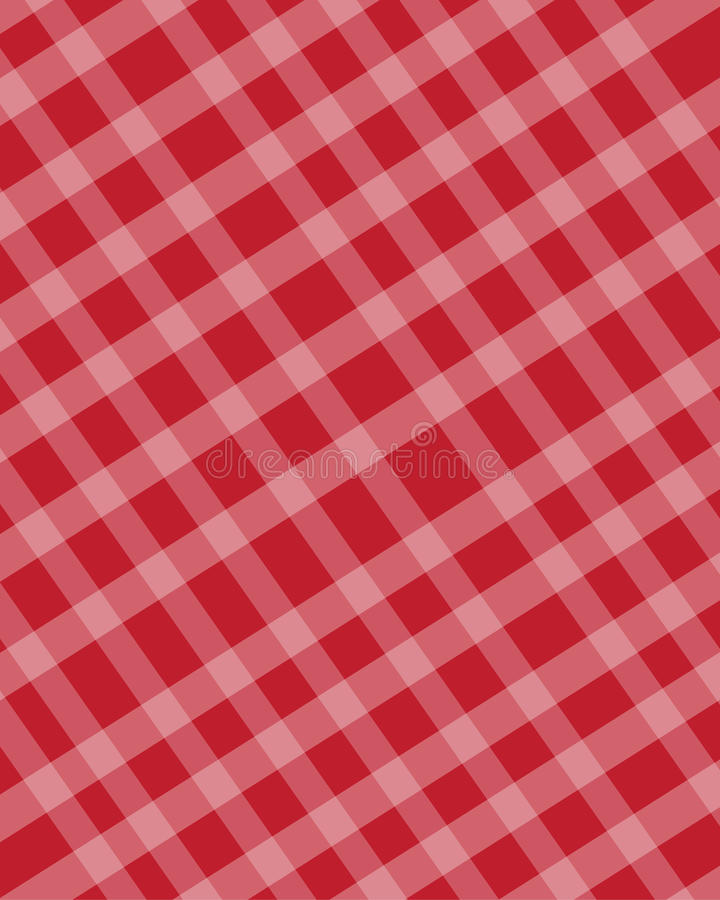 Download Checkered texture red stock vector. Image of food, cloth - 33309867