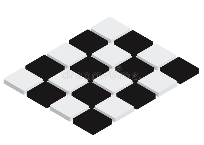 Download Checkered Tiles - vector stock vector. Image of game, abstract - 6495679
