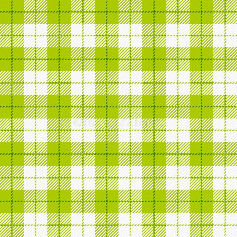 Checkered Tischdecke stock abbildung