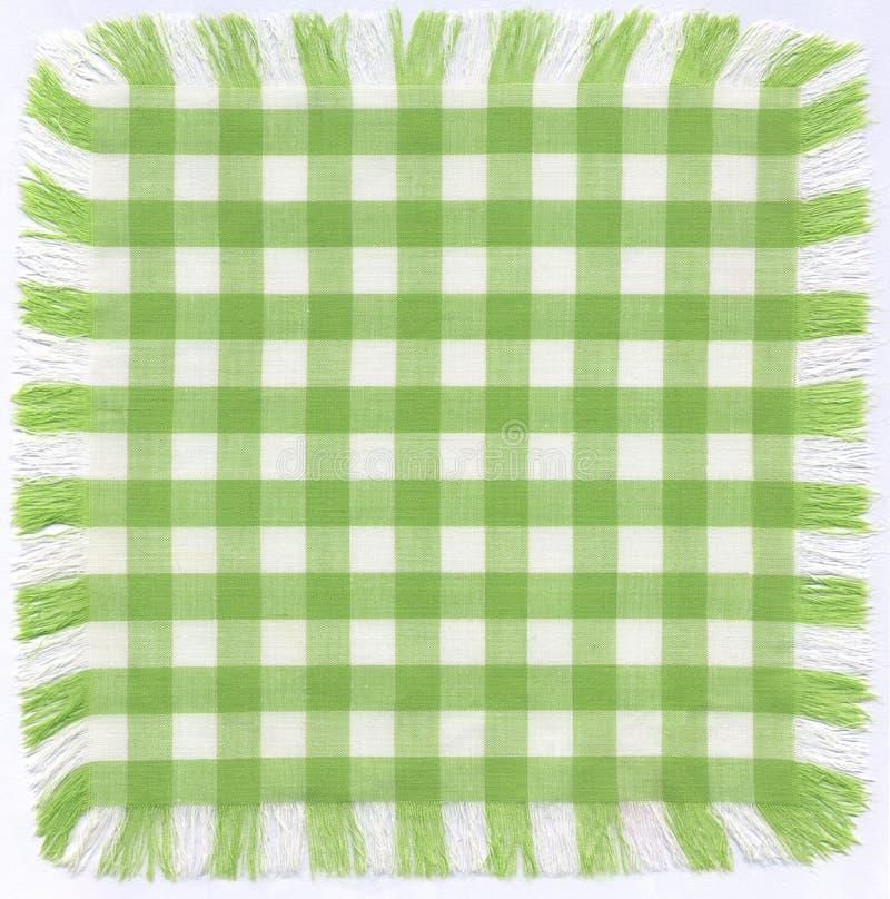 Checkered verde foto de archivo libre de regalías