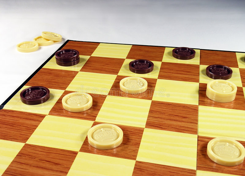 Download Checkers stock image. Image of family, competition, game - 60625