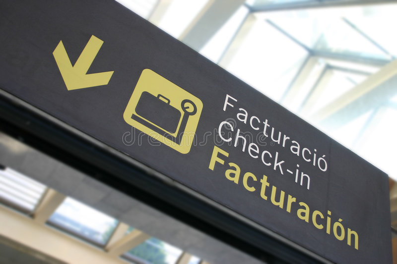 Checking in..? royalty free stock photos