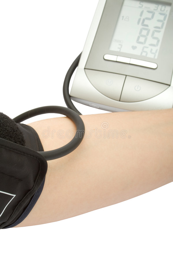 Download Checking The Blood Pressure Stock Photo - Image: 5990190