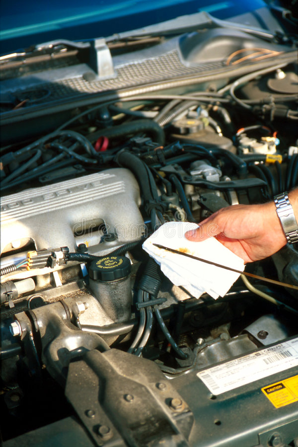 Download Checking Oil stock photo. Image of engine, test, automobile - 221114
