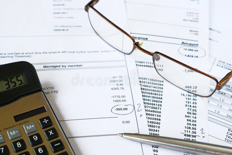 Download Checking Statements Stock Images - Image: 3360734