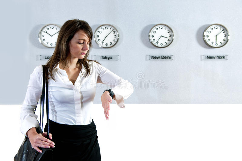 Download Checking the time stock photo. Image of international - 22029680