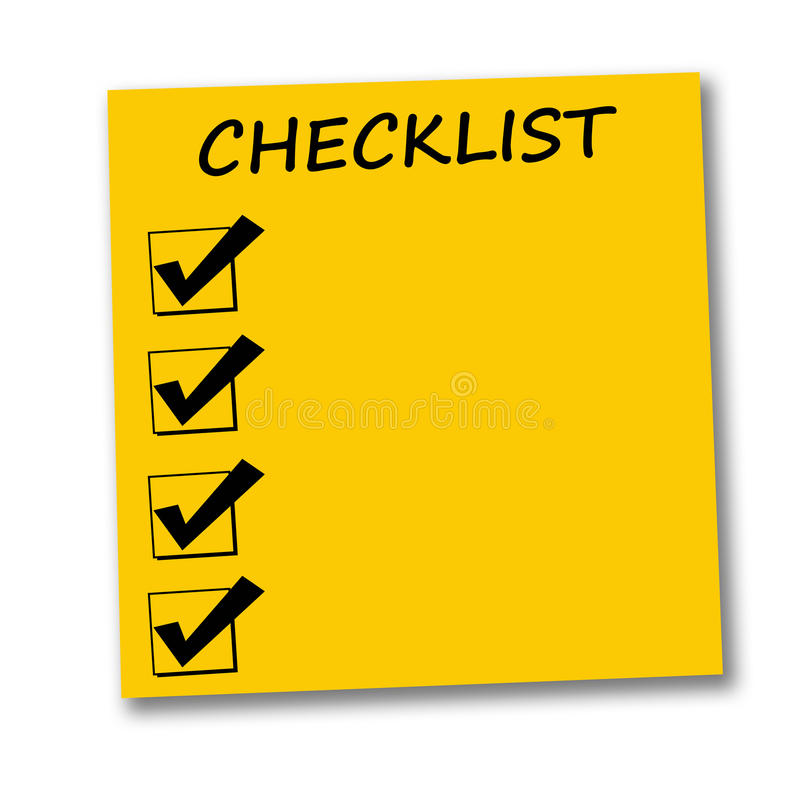 Download Checklist Stock Photos - Image: 16514683