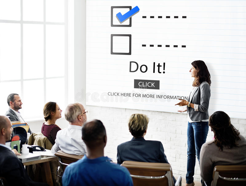 Checklist Choices To Do Audit Evaluation Concept stock images