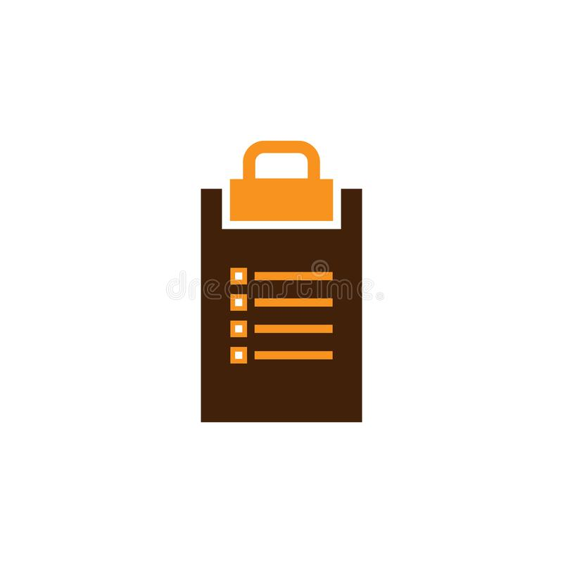 Checklist, list icon. Element of Web Optimization icon for mobile concept and web apps. Detailed Checklist, list icon can be used royalty free illustration