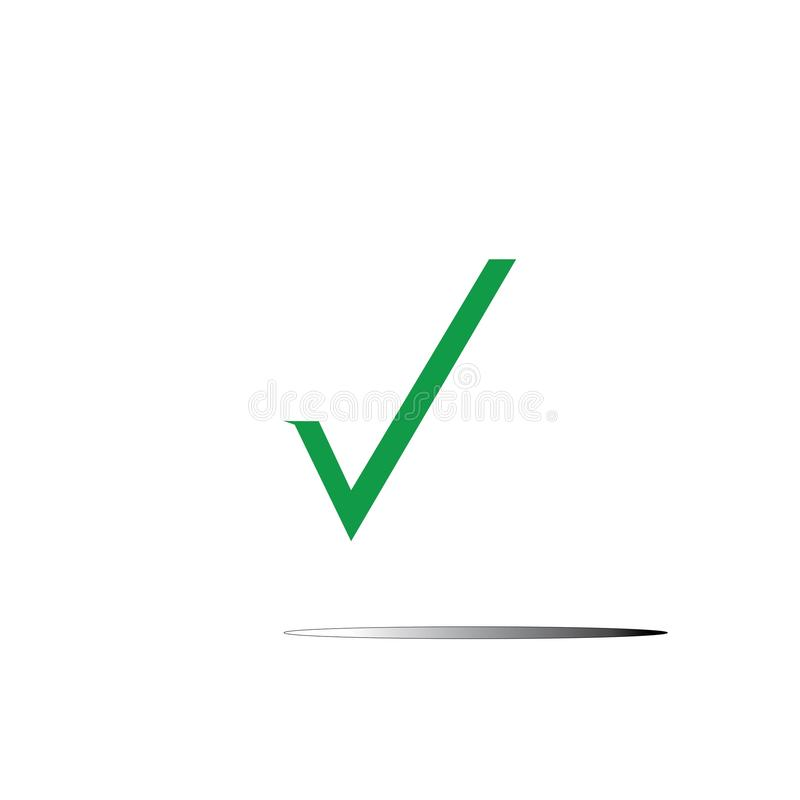 checkmark vector illustration