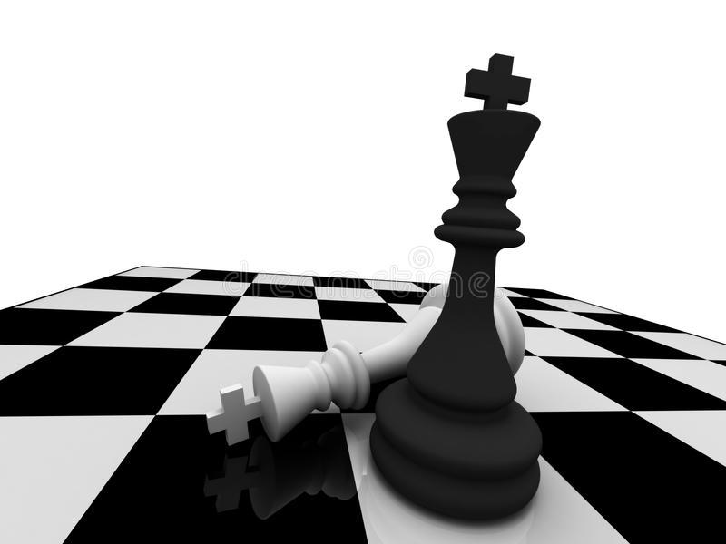 Checkmate royalty free illustration