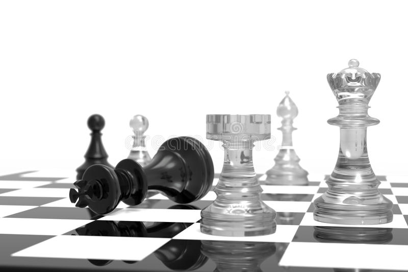 Download Checkmate stock illustration. Illustration of competitive - 17659162
