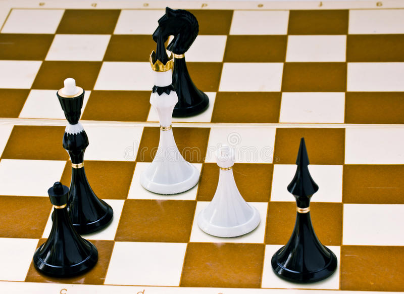 Checkmate imagem de stock royalty free