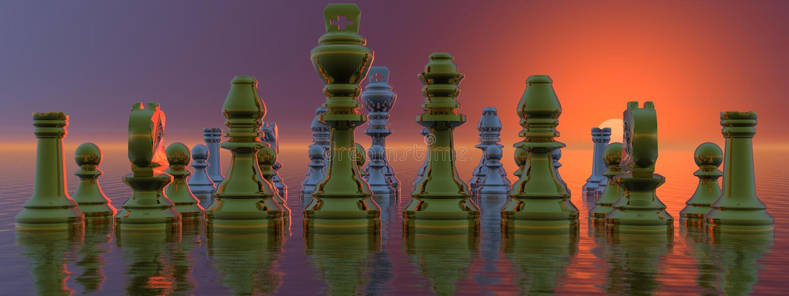 Download Checkmate stock illustration. Image of game, player, moves - 23783662