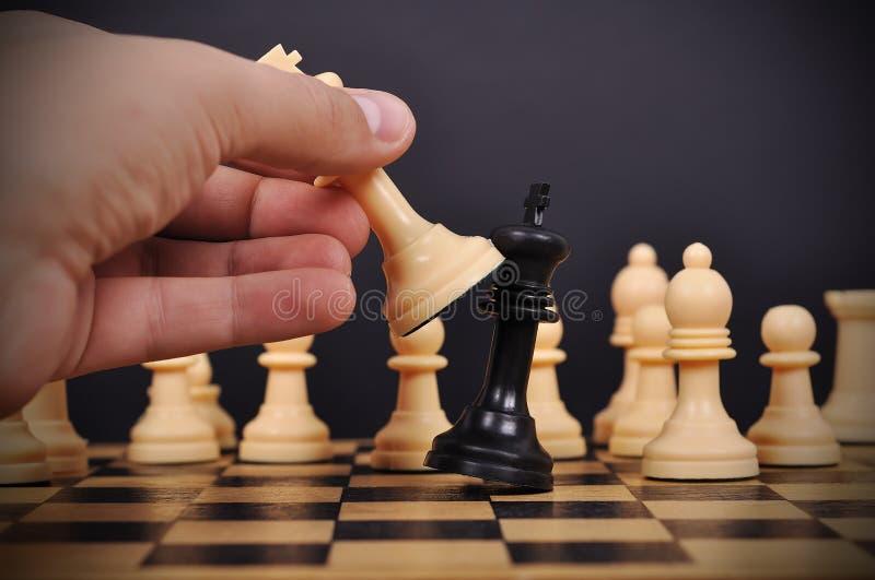 checkmate stock foto's