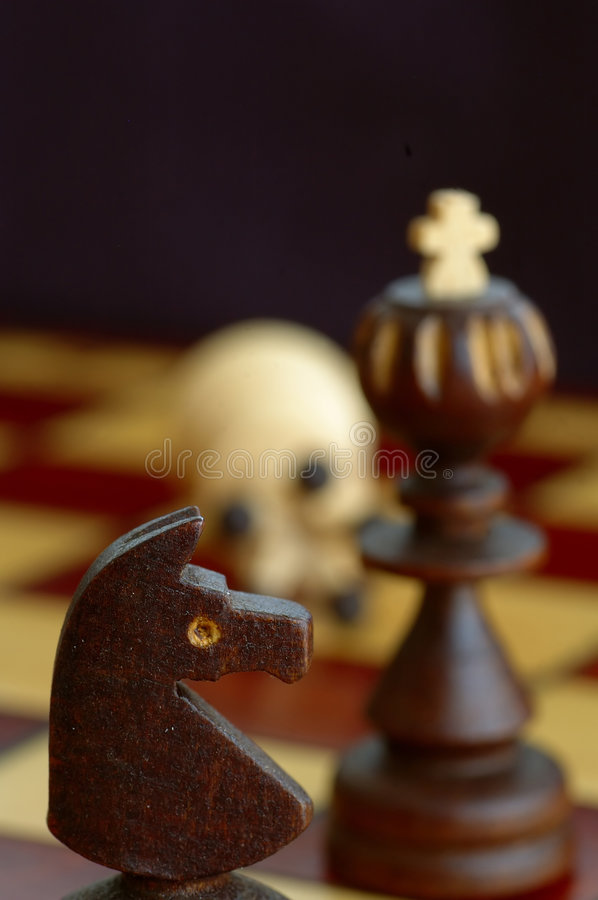 Download Checkmate stock photo. Image of queen, horse, check, metaphor - 519922