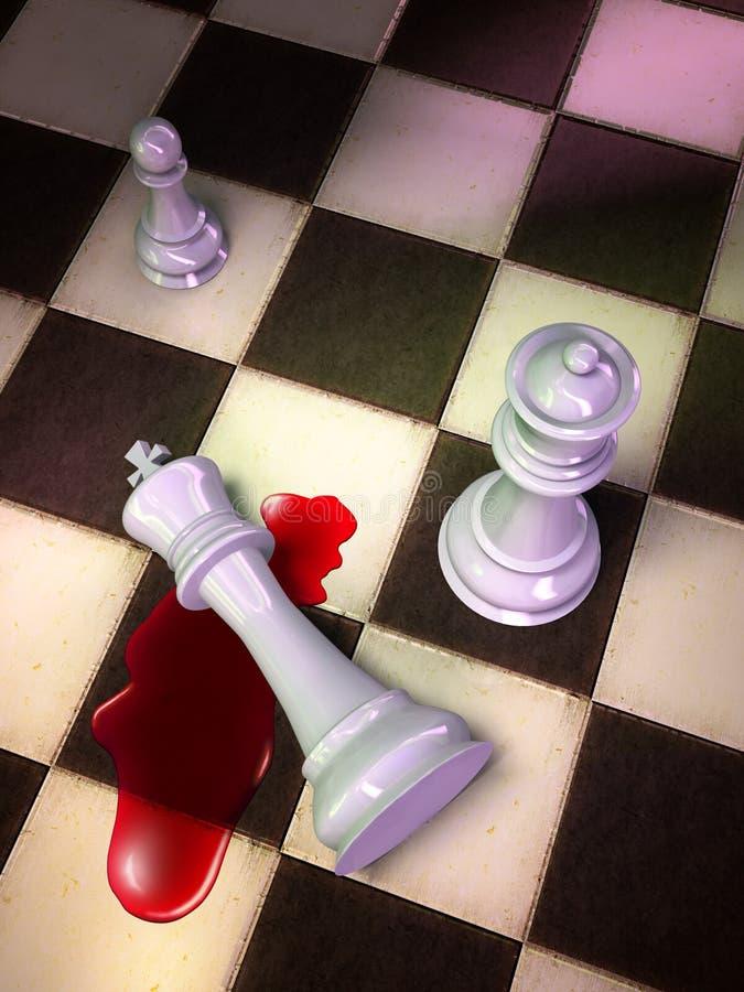 Checkmate ilustração do vetor