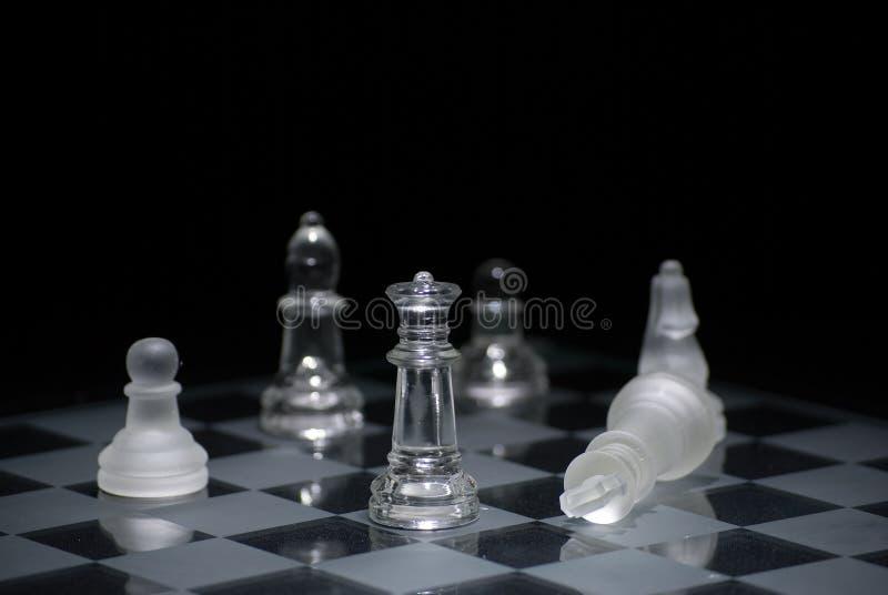 Checkmate di scacchi fotografia stock