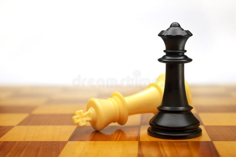 checkmate gra fotografia stock