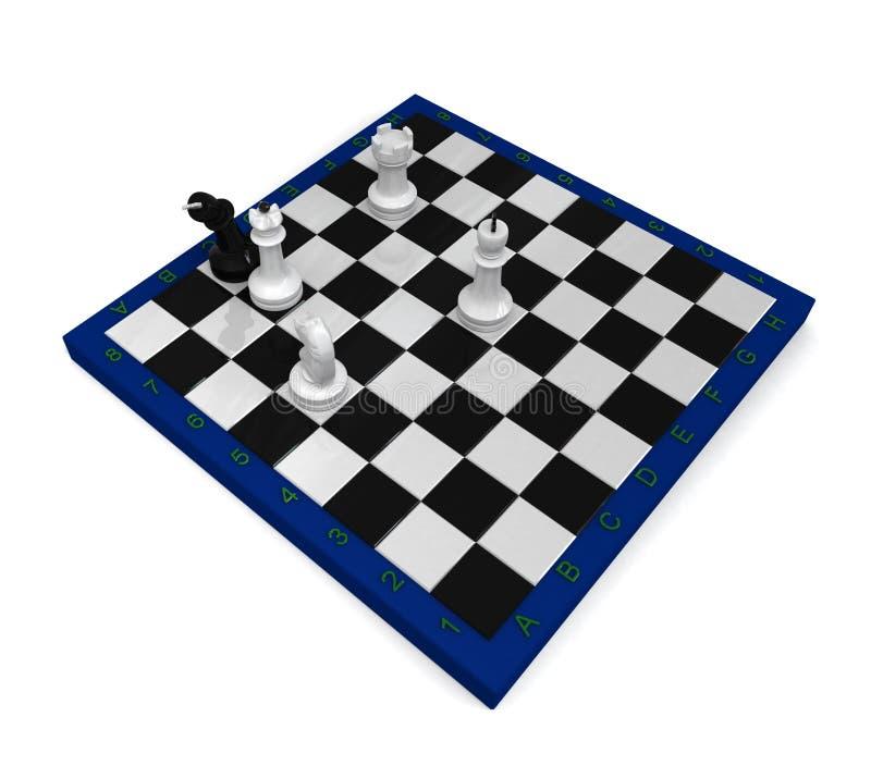 checkmated royalty illustrazione gratis