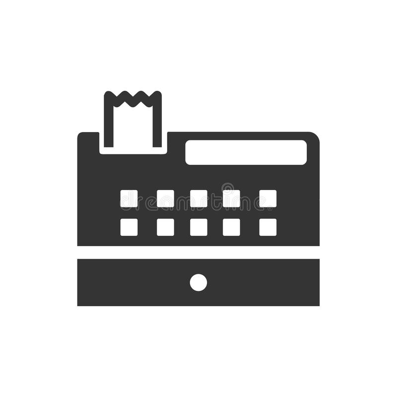 Checkout Machine Icon. Beautiful, Meticulously Designed Checkout Machine Icon stock illustration