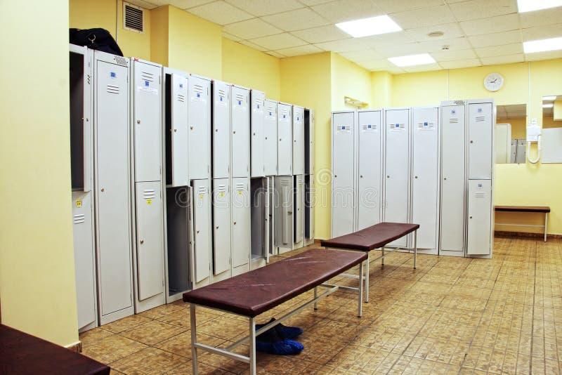 Checkroom stock photo