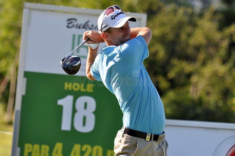 Checo abre 2010, conduzindo o jogador de golfe, 2010
