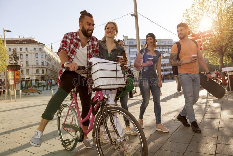 Checo Millennials imagen de archivo libre de regalías