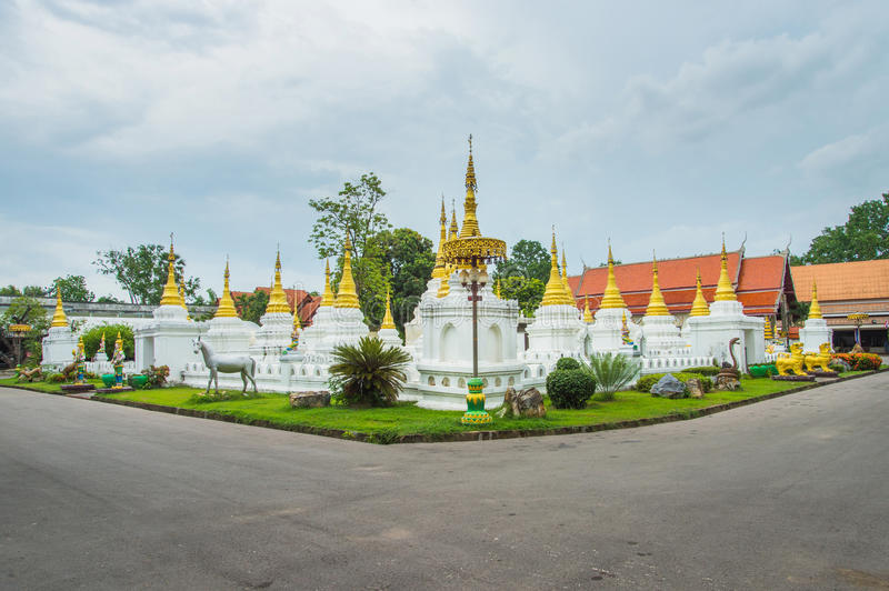 Chedee Sao temple Lampang, Thailand.  stock photos