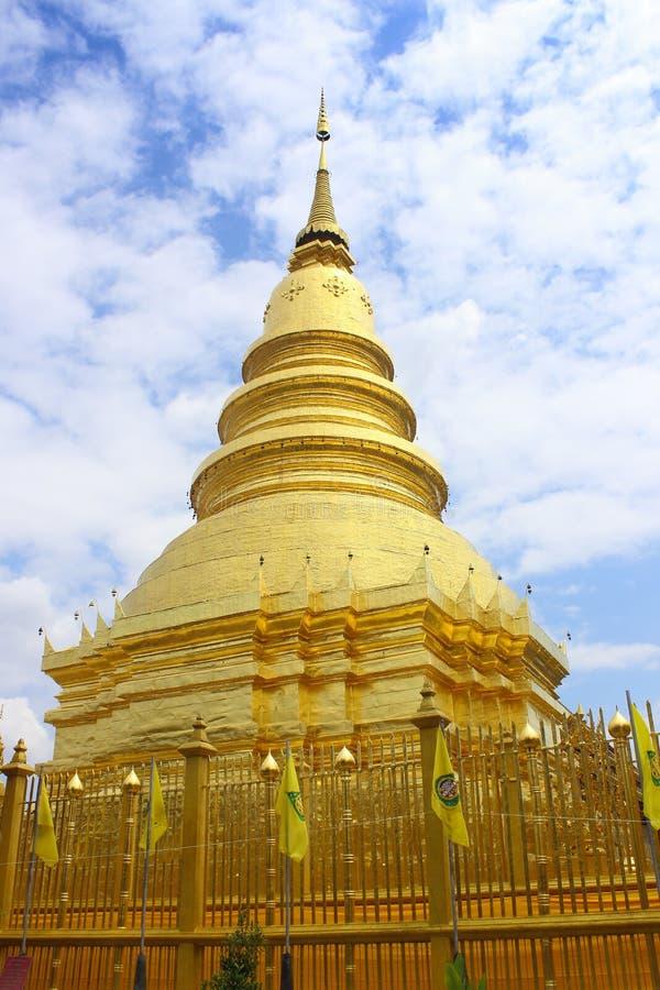 Chedee w lumphun Tajlandia zdjęcia stock
