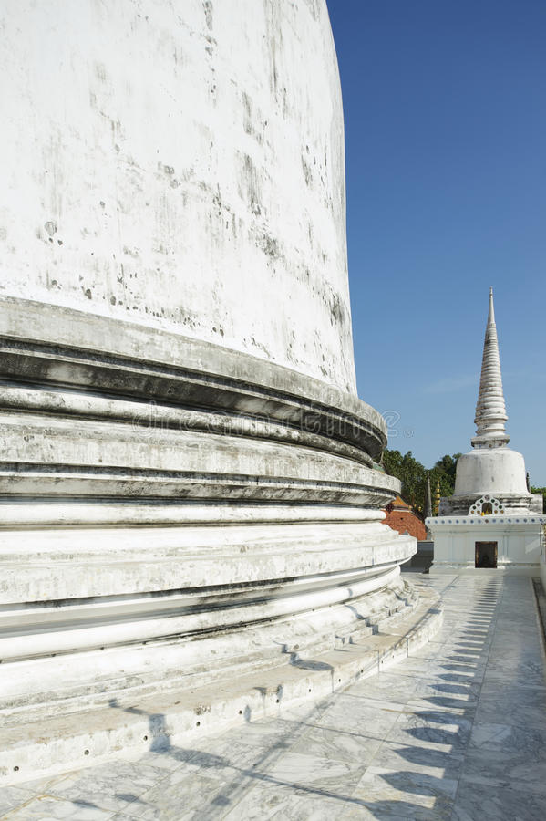 Chedi Phra Baromathat in Nakhon Sri Thammarat, Thailand lizenzfreie stockbilder