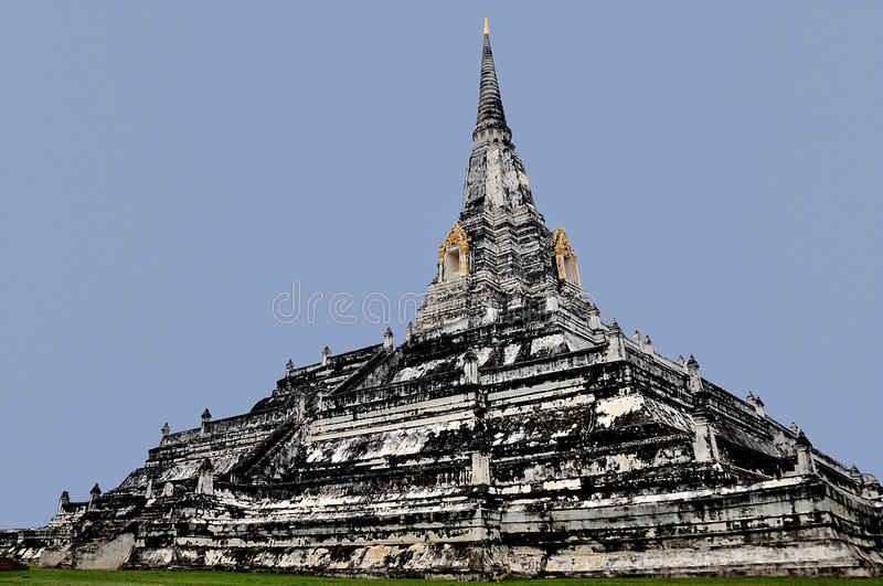 Download Chedi Phu Khao Thong stock photo. Image of famous, asia - 29517152