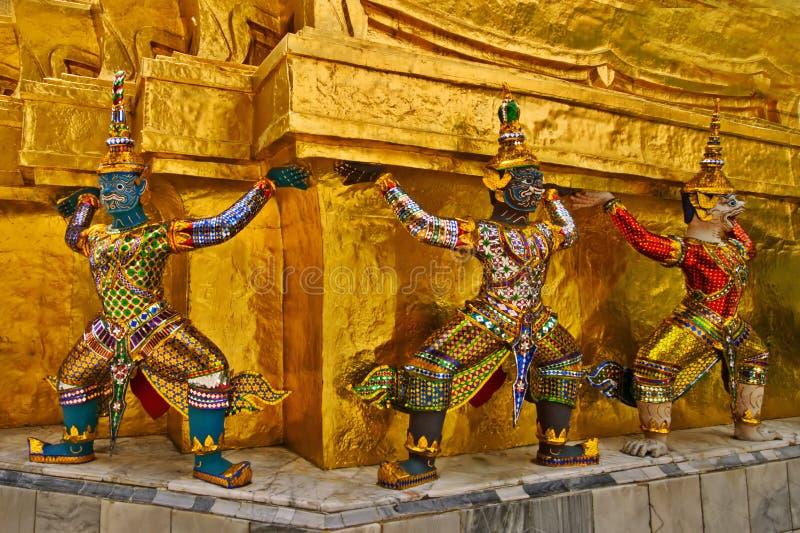 Chedis tailandês fotografia de stock royalty free