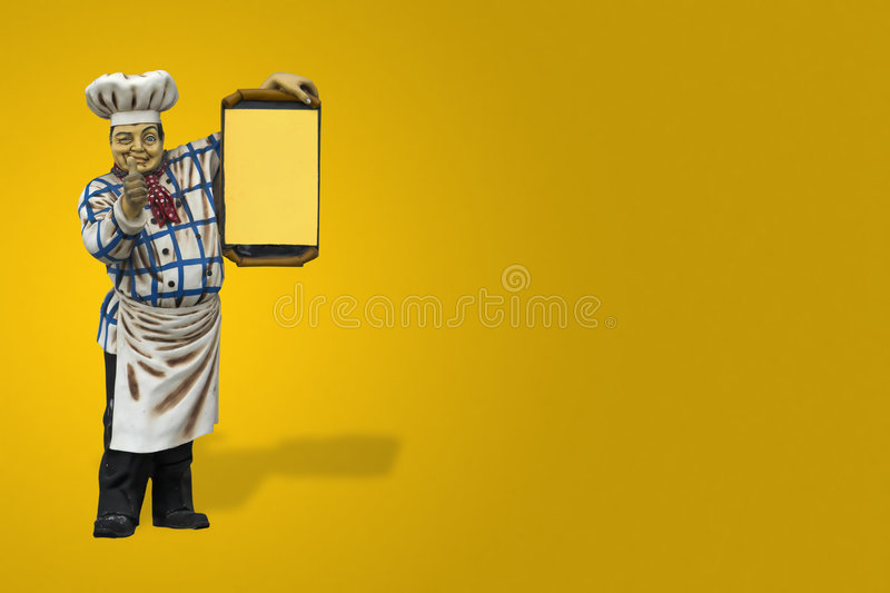 Cheef do cozinheiro fotografia de stock