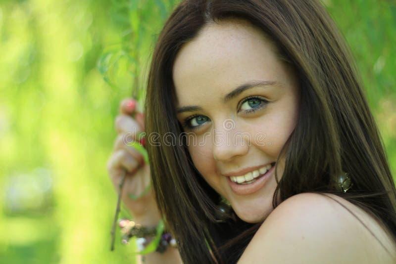 Download Cheeky flirt stock photo. Image of outdoors, face, femininity - 19498562