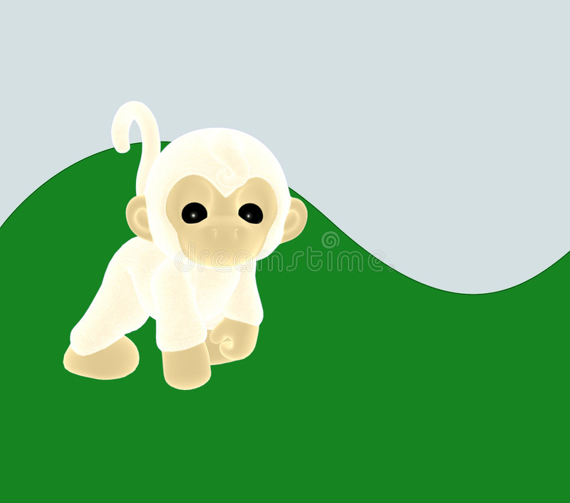 A cheeky white monkey stock photos